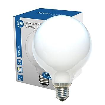 LED 360° Globe Bombilla G12010W=60W E27mate opal 790LM Bombilla de bajo la bombilla blanco cálido 2700K, E27, 10.0 wattsW: Amazon.es: Electrónica