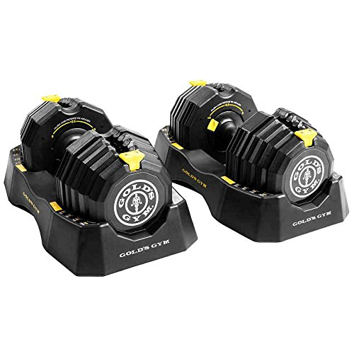 Golds Gym 110 lb. Select-A-Weight Dumbbell Set by Generic