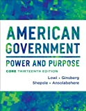American Government, Theodore J. Lowi and Benjamin Ginsberg, 0393922456