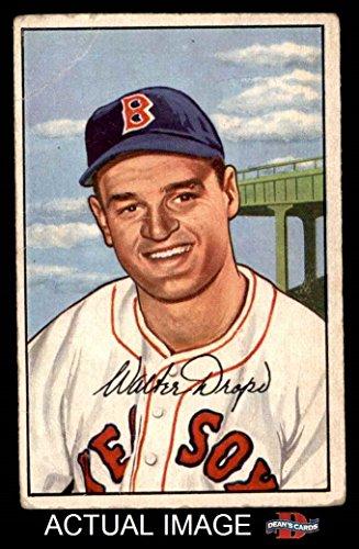 1952 Boston Sox Red - 1952 Bowman # 169 Walt Dropo Boston Red Sox (Baseball Card) Dean's Cards 2 - GOOD