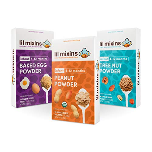 Lil Mixins Box Set (Peanut, Egg, Tree Nut) Early