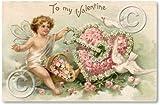Item 49 Victorian Valentine Fairy Sign