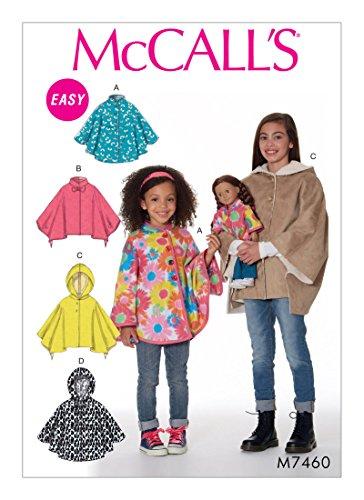 McCall's Sewing Pattern MP630 / M7460 - Children's/Girls'/18
