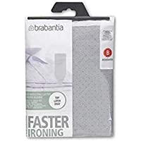 Brabantia 317705 Ironing Board Cover, B Size, Metalized