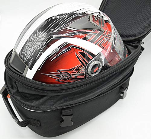 Motorcycle Helmet Bag Waterproof Universal Fit (12-22 Liters)