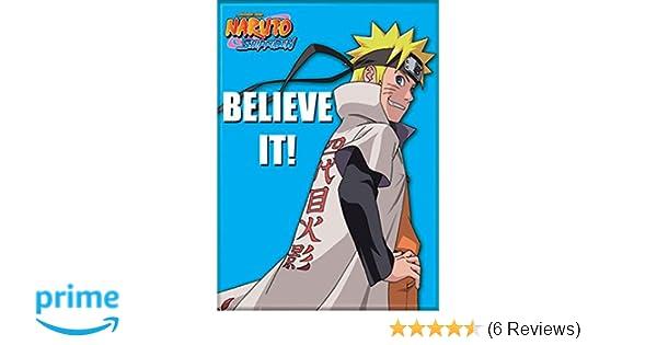 Naruto Anime with Kakashi and Iruka Image Refrigerator Magnet NEW UNUSED