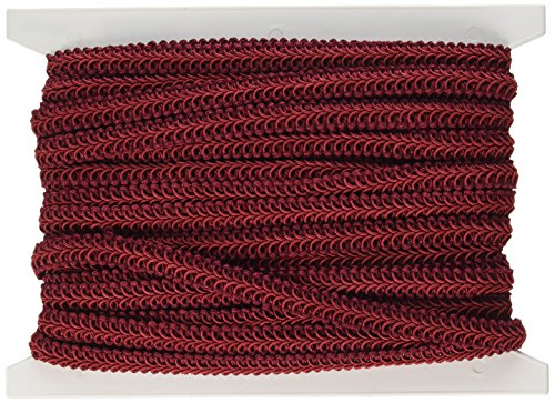- Expo International Alice Classic Woven Braid Trim, 20-Yard, Burgundy