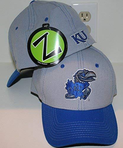 super popular cfe8a c356b Image Unavailable. Image not available for. Color  ZHATS Kansas University  KU Jayhawks Blue ...