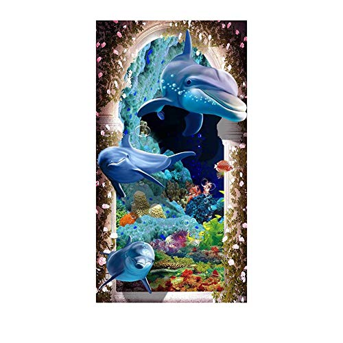 - Macrorun Dolphins Full Drill 5D DIY Diamond Painting Kit Diamond Dotz Cross Stitch Embroidery Round Rhinestones Mosaic Art Craft Kits Home Wall Picture Decoration 16