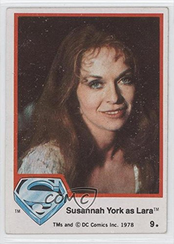 Susannah York as Lara (Trading Card) 1978 Topps Superman The Movie - [Base] #9 by Topps