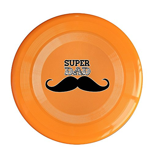 Logog 8 Custom Design Of The Happy Father's Day Super Father Gift Pet Flying Discs Orange Diameter 23cm