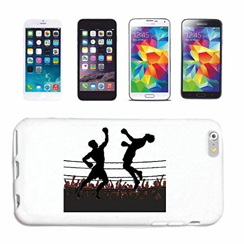 """cas de téléphone iPhone 7+ Plus """"BOXE BOXE BOXING CLUB DE BOXE GANTS BOX ROCKY STALLONE SPARRING BOXER"""" Hard Case Cover Téléphone Covers Smart Cover pour Apple iPhone en blanc"""