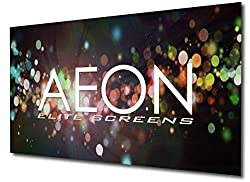 Elite Screens Aeon Clr Series 120 Inch 16 9 Edge Free Ambient Light Rejecting Fixed Frame Projector Screens Ar120h Clr