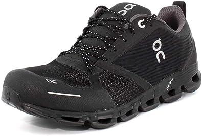 On Running Cloudflyer - Zapatillas impermeables para correr para hombre, Negro (Negro Lunar), 42.5 EU: Amazon.es: Zapatos y complementos