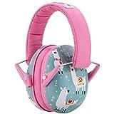 Snug Kids Earmuffs/Hearing Protectors – Adjustable Headband Ear Defenders for Children and Adults (Llamas)
