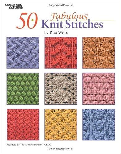 50 Fabulous Knit Stitches(Leisure Arts #4280)