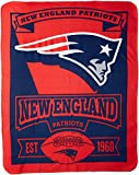 Cuddle up close with your favorite team while watching the game, on a picnic or in from the cold with The Northwest Company's 50-inch by 60-inch licensed printed fleece throw. Made of 100% polyester and is machine washable and dryable. Made i...
