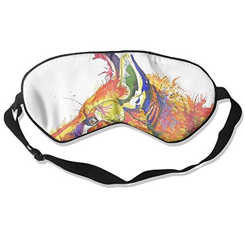 WUGOU Sleep Eye Mask Paintings Of Foxes Lightweight