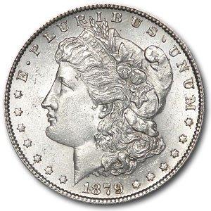 1879-S Morgan Silver Dollar - Brilliant Uncirculated (MS-60 - MS-63)