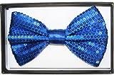 Navy Blue Sequin Bow Tie [72 Pieces] *** Product Description: Navy Blue Sequi...