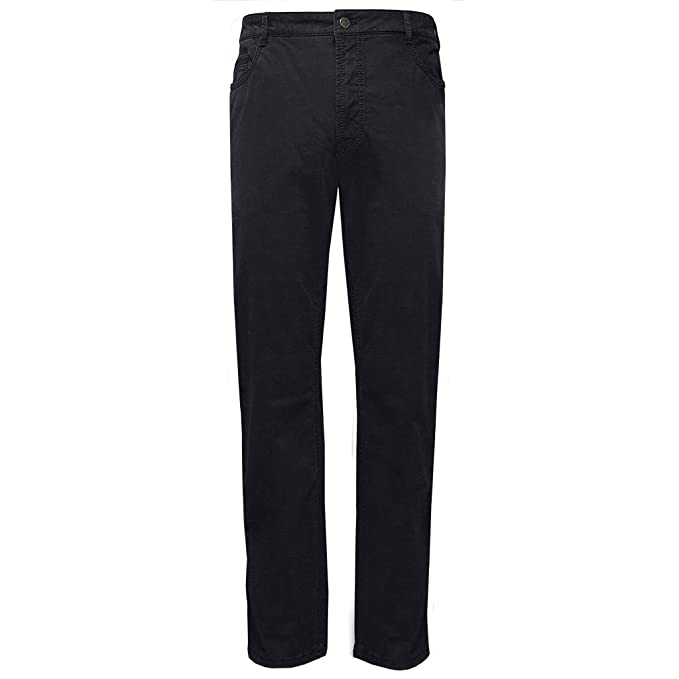 New 2016 Meyer Stretch Luxury Satin Denim Jean Black