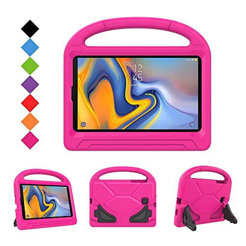 BMOUO Kids Case for Samsung Galaxy Tab A 8.0 2018 SM-T387, Shockproof Light Weight Protective Handle Stand Kids Case for Tab A 8.0 Inch 2018 Release Tablet - - 8 Tablet Kids Case Inch