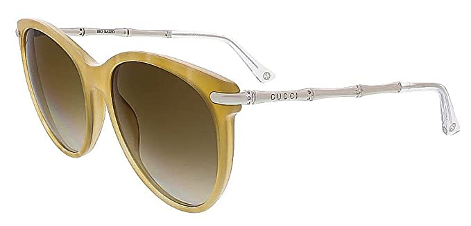 f00b3ae5062 Amazon.com  Gucci 3771 Women s Bamboo Temple Sunglasses  Clothing