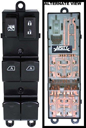 apdty-112891-power-window-switch-fits-master-front-left-2004-2015-nissan-titan-4-door-crew-cab-2005-