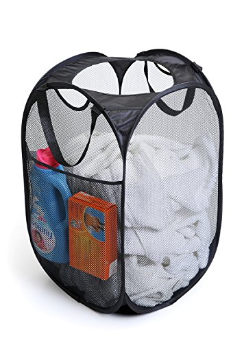 Pro Mart Dazz Deluxe Mesh Pop Up Laundry Hamper With Side
