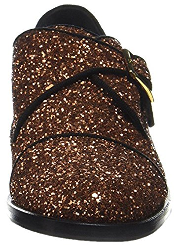 Pollini SA10162M1YTQ0905, Monkstrap Donna, Bronzo, EU 38