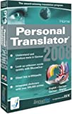 Personal Translator 2008 Home English - German