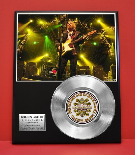 Tom Petty LTD Edition Platinum Record Display - Award Quality Music Memorabilia Wall Art - Toms Store Outlet