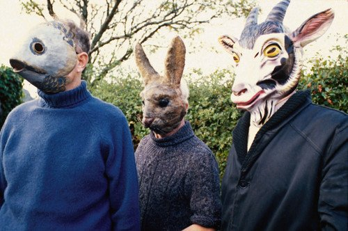 The Wicker Man villagers in creepy animal masks 24x36 Poster from Silverscreen