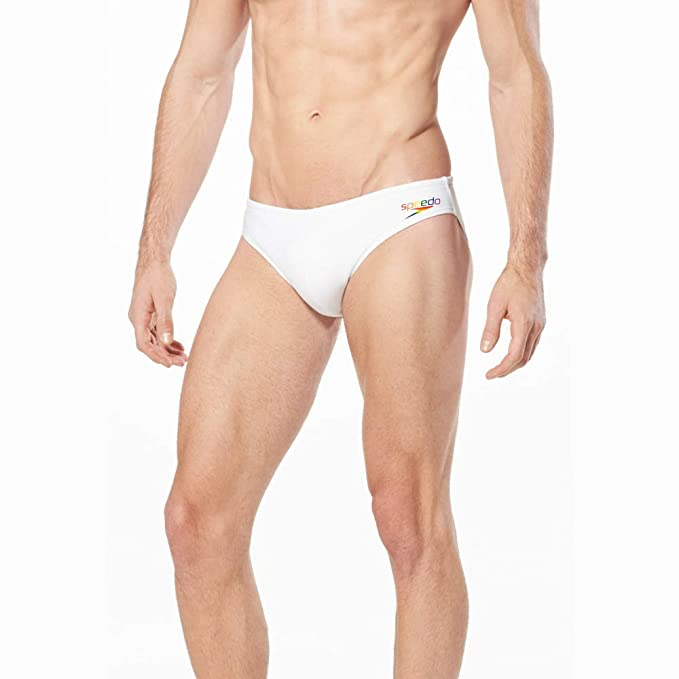8cf3fd6bc54 Amazon.com : Speedo Men's Pride Men's Swim Solar 1