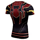 Cosfunmax Super Hero Compression Shirt Athletic