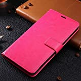 OPPO R5 case, solid color pattern wallet style case magnetic design flip folio PU Leather cover standup cover case for OPPO R5 ( Color : Red-OPPO R5 )