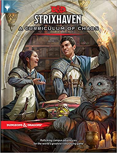 Strixhaven: Curriculum of Chaos (D&D/MTG Adventure Book)