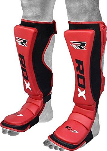 RDX Boxen Schienbeinschutz Schienbein Kampfsport Muay Thai Kickboxen Schienbeinschoner Beinschützer