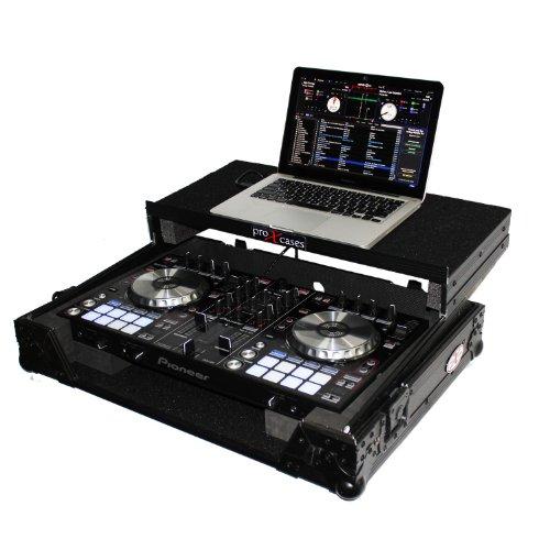 Pro X Cases PIONEER DDJ-SR XS-DDJSR-LTBL BLACK FLIGHT - laptop Shelf