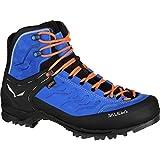 Salewa Men's Rapace GTX Mountaineering Boot, Royal Blue/Papavero, 12