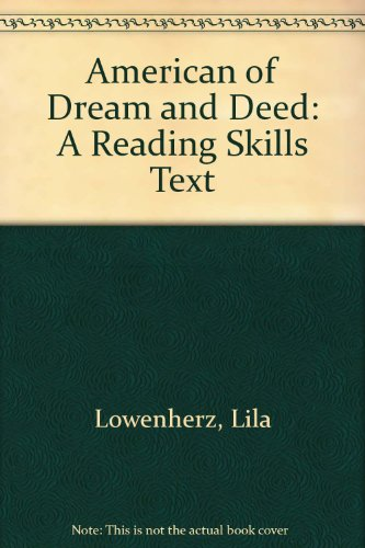 American of Dream and Deed: A Reading Skills