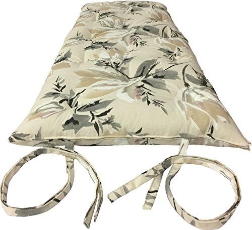 Deco Traditional Japanese Floor Rolling Futon Mattresses, Yoga Meditation Mats (Twin Size, Full Size, Queen Size, Chair Size). (Chair Size 3 x 30 x 80, Harmony Gold) (Harmony Meditation Chair)