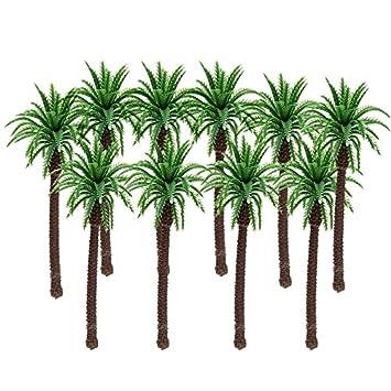 Amazon.es: 10 unds Miniaturas 11x 5 cm palmeras para ...