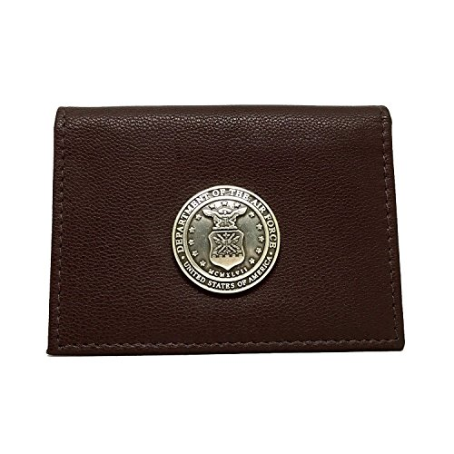 US Air Force Leather Business Card Holder Business Card Case by Cigar Cutters by Jim