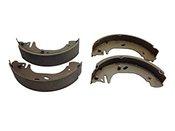 A pair of rear bumper brackets for Ford Transit MK5 1994-2000