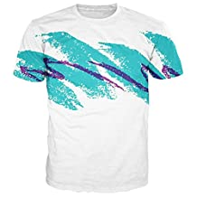Leapparel Unisex Stylish Casual Design 3d Printed Short Sleeve T Shirts Tees