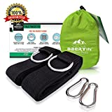 The Abertin Suspension System is the perfect straps to hang your hammock.  We provides two styles of hammock straps that can meet all kinds of needs, our goal is to provide every customer with products that of high quality and high cost-effective. ★D...