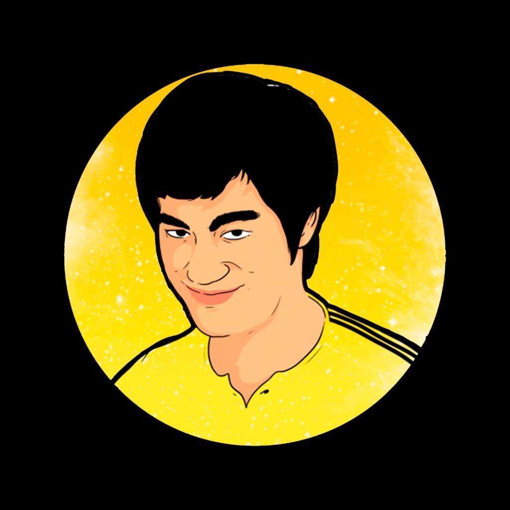 Bruce Lee Circle Kids Varsity Jacket