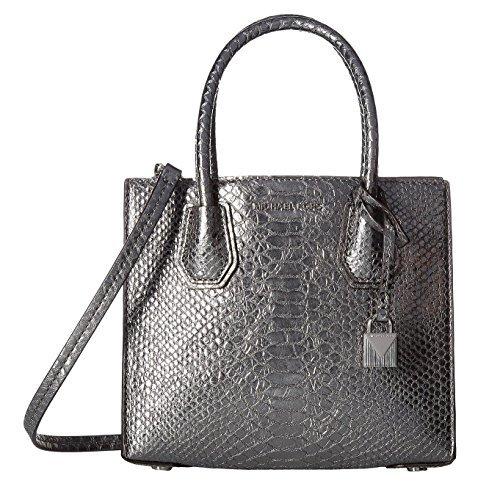 Michael Kors Silver Handbag - 4