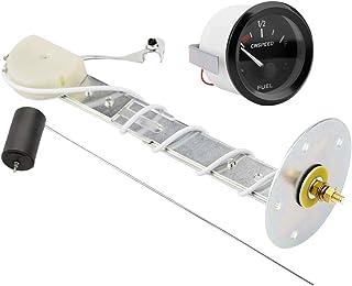 Vosarea Mètre Universel de Niveau d'huile d'instrument d'automobile de 12V remontant pour Le mètre d'huile de véhicule de Voiture OC113566SOEK80